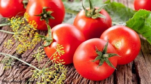 Tushda pomidor